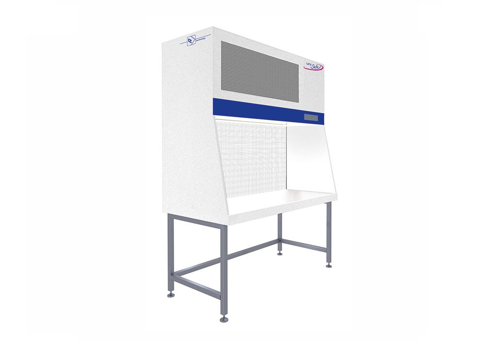 Laminar-Flow-Box mit horizontaler Luftströmung