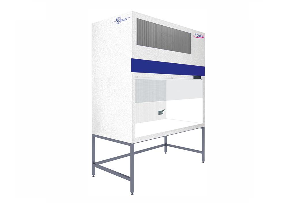 Laminar-Flow-Box mit vertikalem Luftstrom