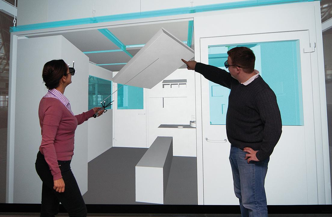 CleanoFlex-Kabine planen mit Virtual Reality