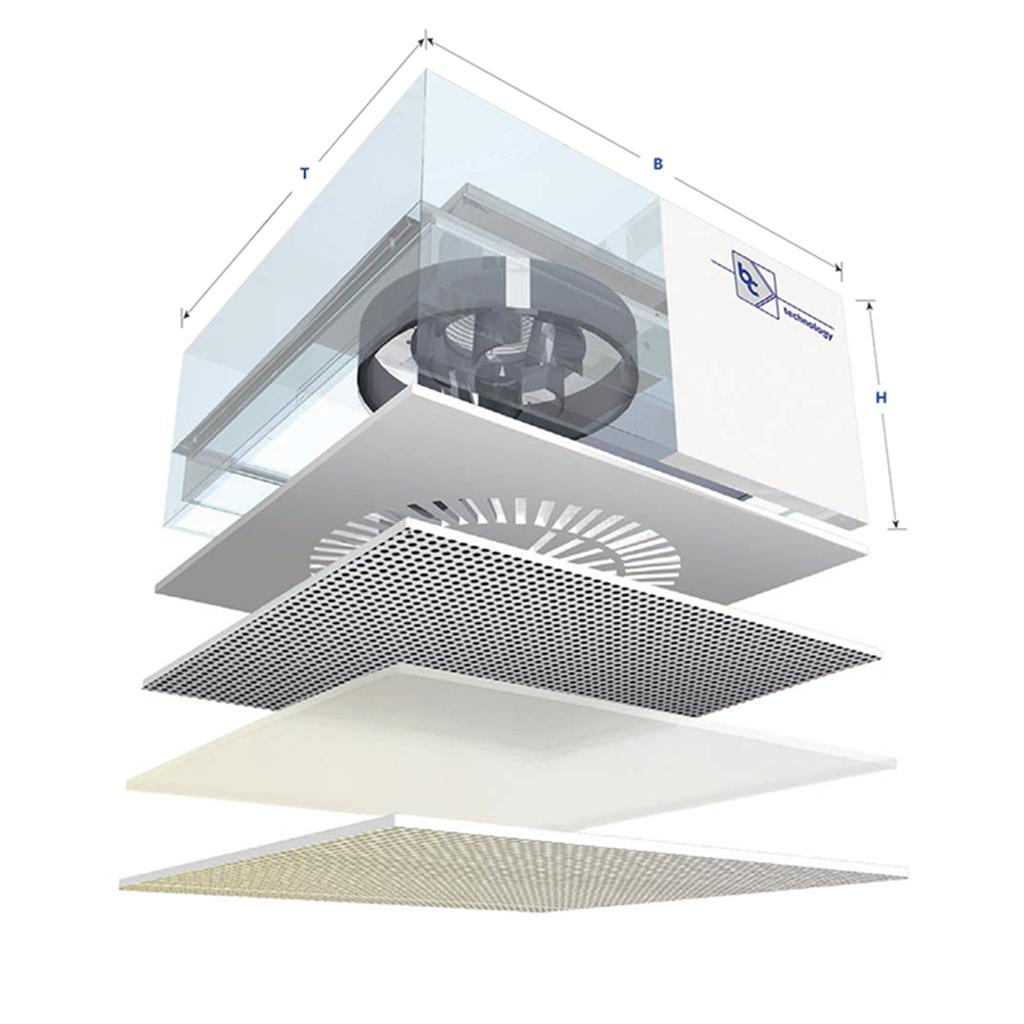 Filter-Ventilator-Einheiten (FFUs)